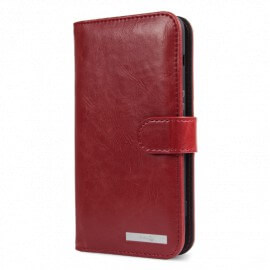 Housse Portefeuille Doro 8040 rouge