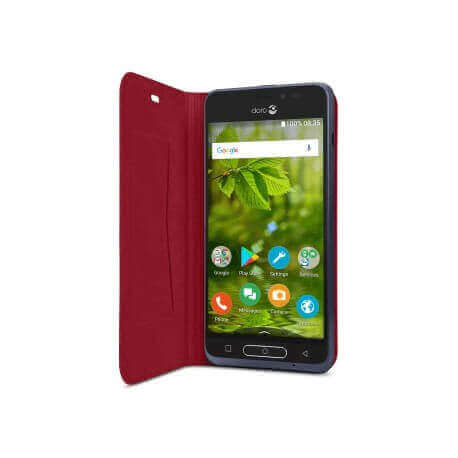 Flip Cover Doro 8035 - Rouge